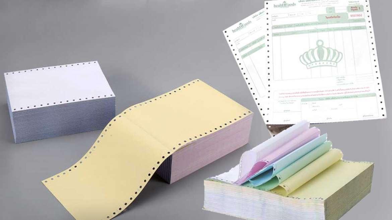 Computer Paper Invoice Box Printing